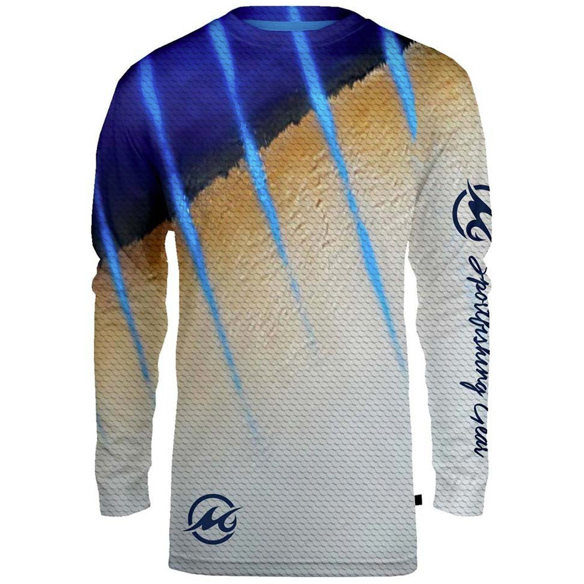 Mojo menus sublimated wireman long sleeve shrit products