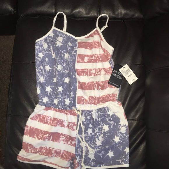 0e03292d1080 Fourth of July inspired romper