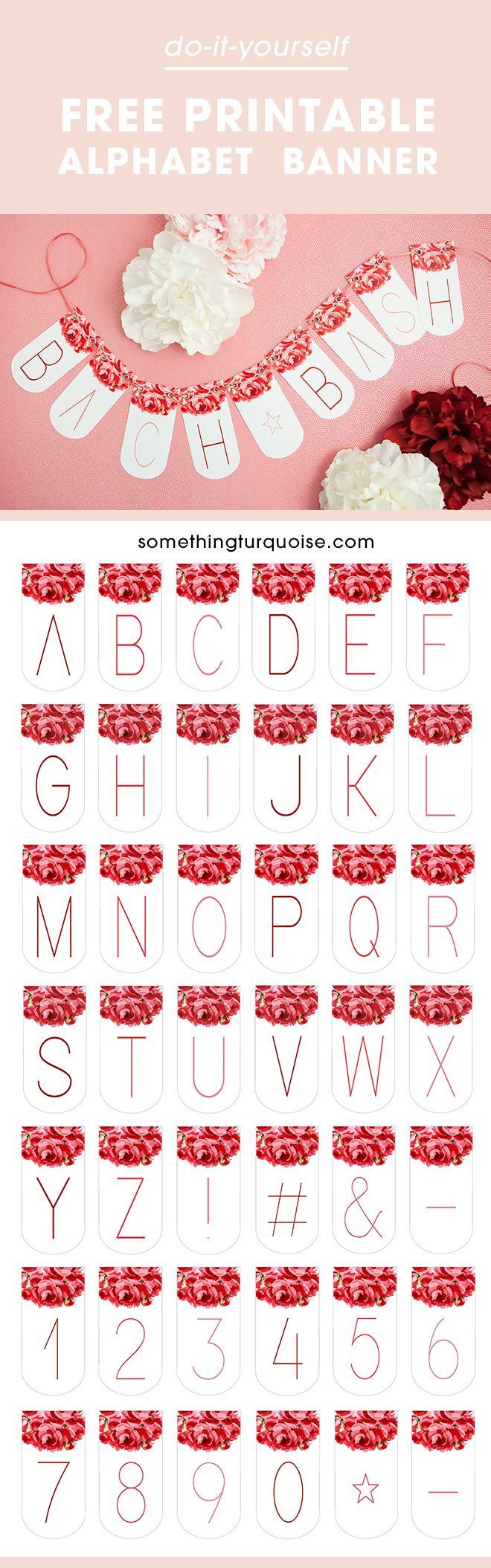 Check Out This Adorable Free Printable Alphabet Banner