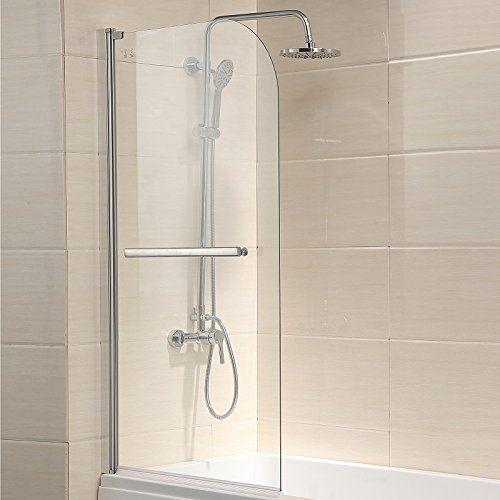 Waagee Pivot Radius Framed 55 Inch By 31 Inch Bath Tub Sh Https Www Amazon Com Dp B019msbikq Ref Cm S Bathtub Shower Doors Shower Doors Glass Shower Doors