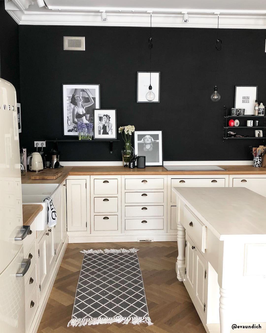 Sedie Alte Da Bar Design alle pareti nere in cucina non ci avevamo mai pensato, ma ci