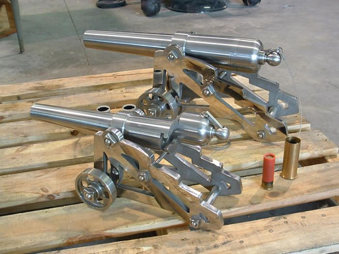 Signal Cannon | Guns and Ammo | Metal lathe projects, Lathe