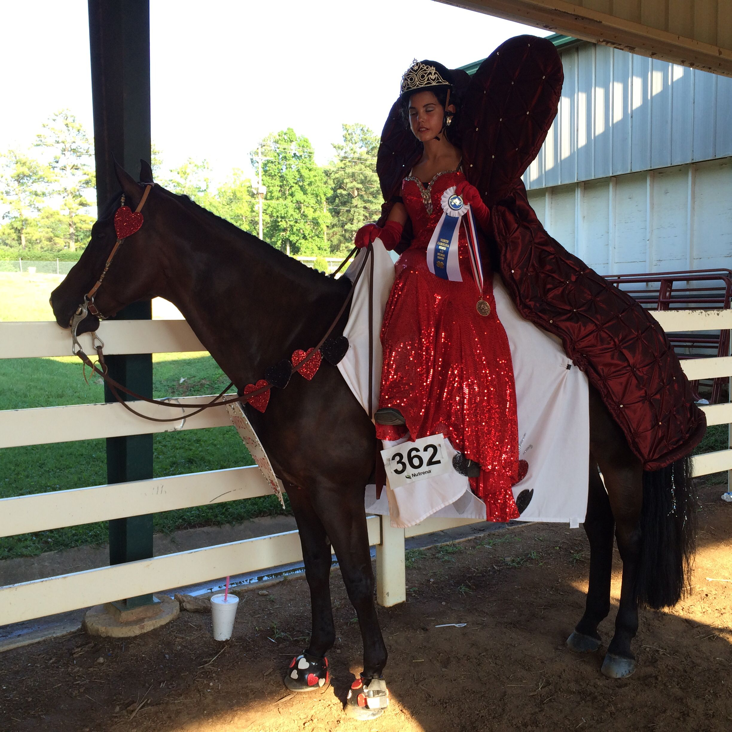 Queen Of Hearts Horse Costume Costumes Pinterest Catriona Akina Top Handle Bag Pink Fancy Dress