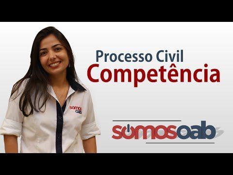 Competência - Processo Civil - Somos OAB - YouTube