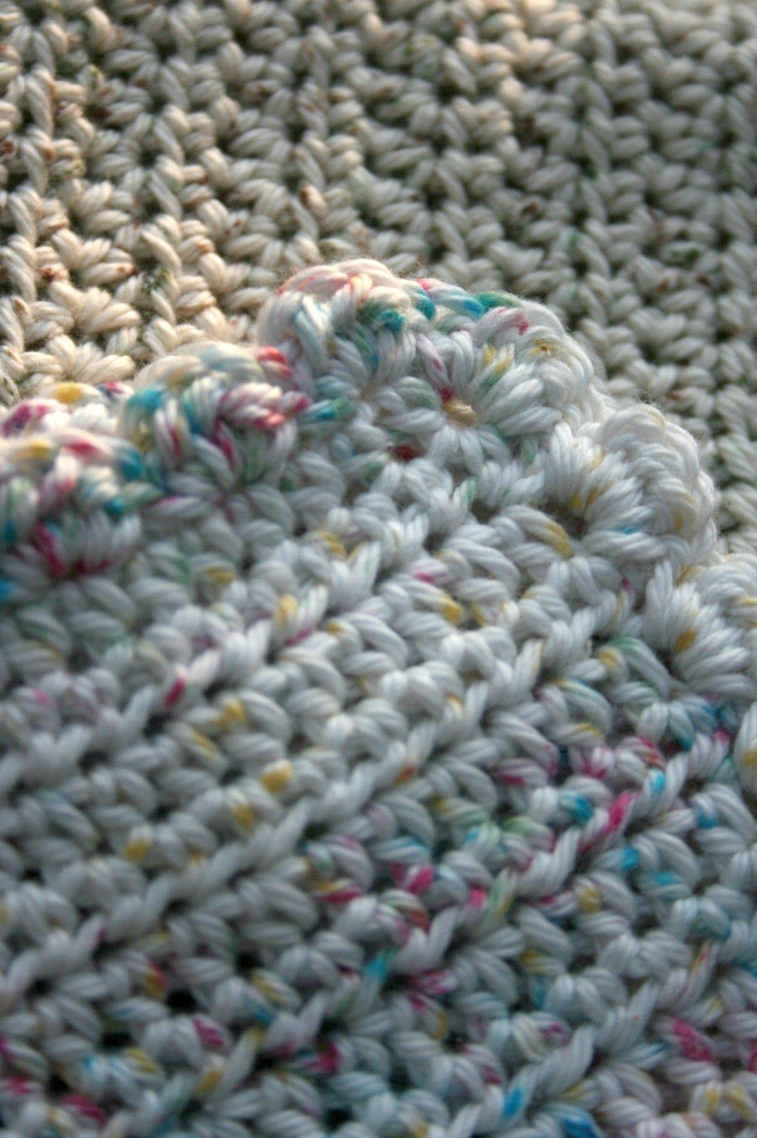 Crochet 101 Photo Tutorial & Crocheted Dishcloth Pattern | Crochet ...