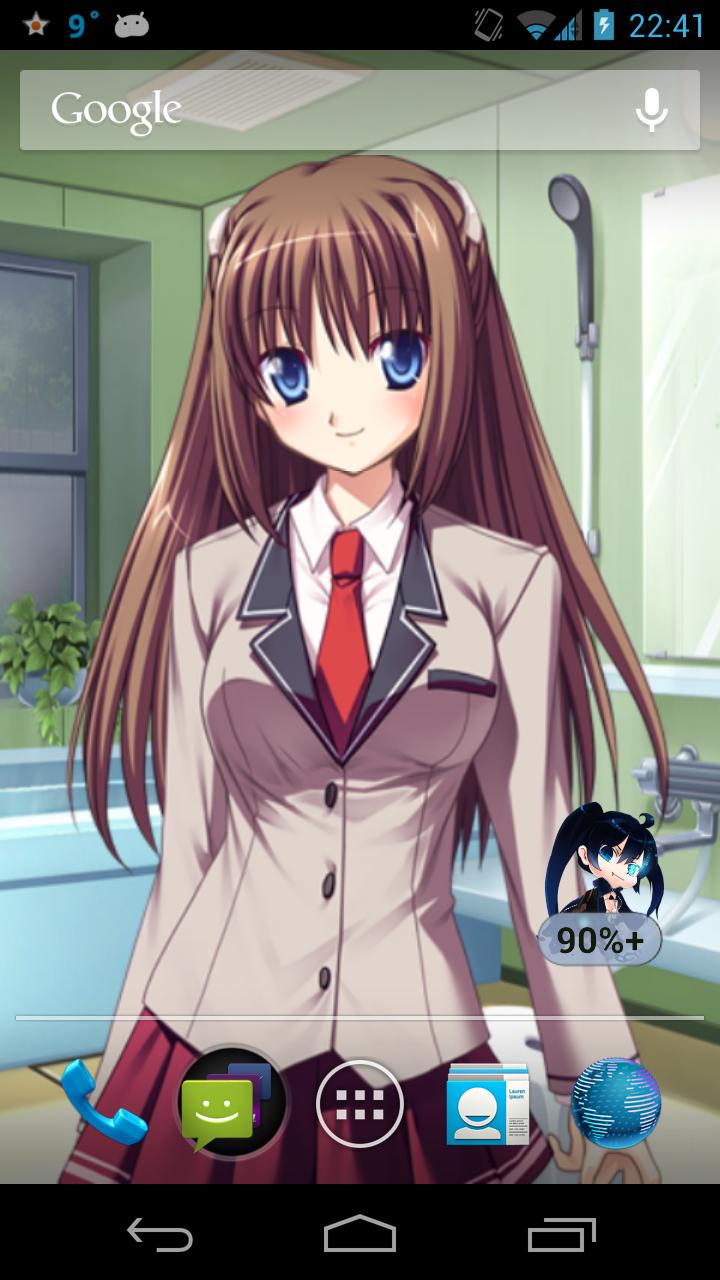 Android Apps Mimiko Ririshiro Anime Live Wallpaper