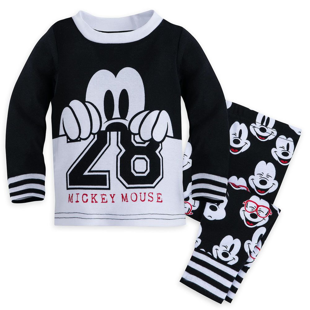 New Baby Boys Mickey Mouse Character Pyjamas Set 6-9 9-12 12-18 18-24 Months