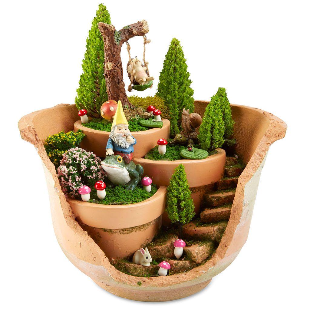 craft smart mini glue gun low temp fairy gardens and craft. Black Bedroom Furniture Sets. Home Design Ideas