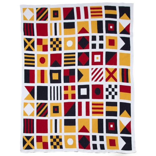knitted blanket nautical - Google Search   Nautical signal ...