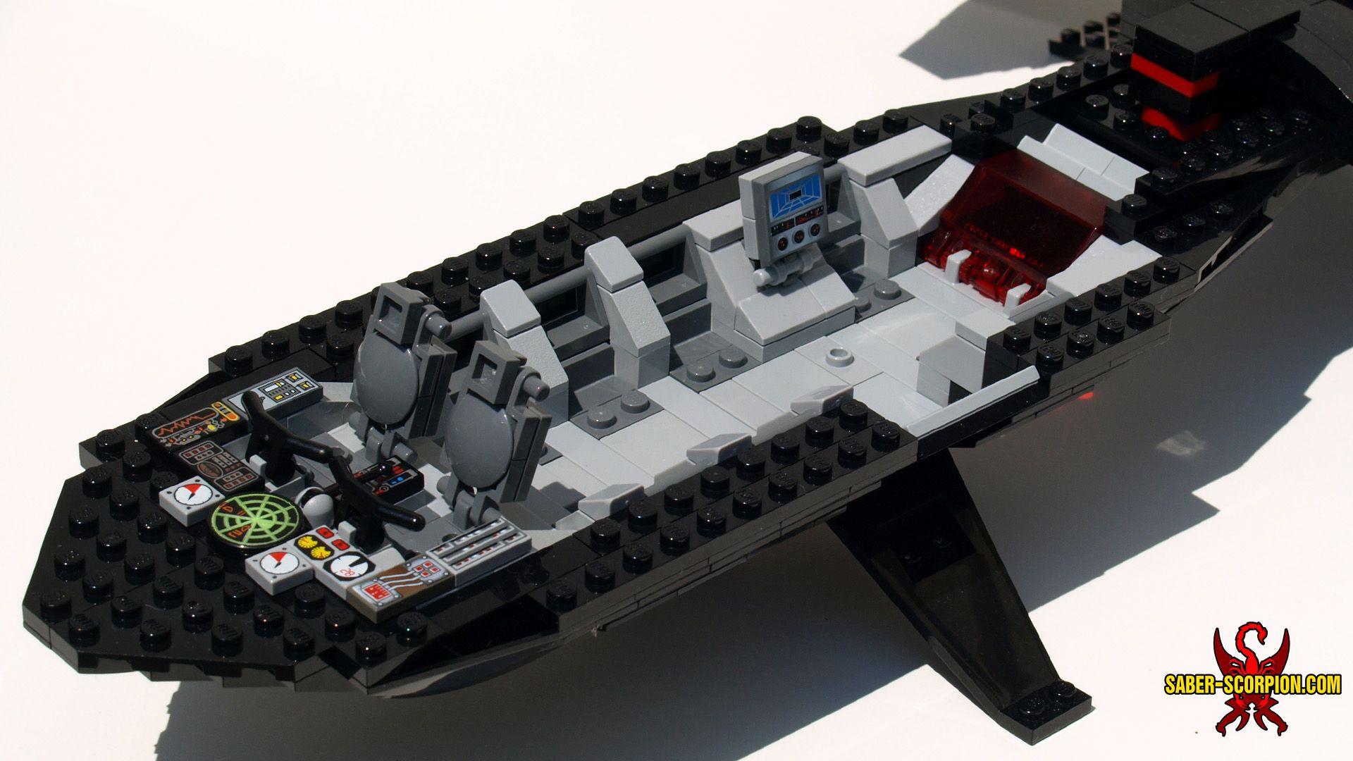 LEGO XMen XJet Blackbird MOC SaberScorpion's Lair