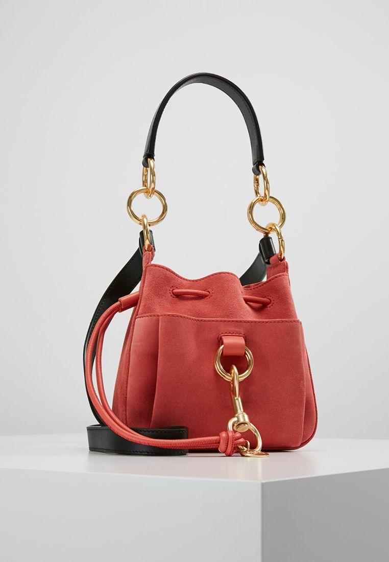 372ccf3e3b44 TONY SMALL - Handbag - wooden pink @ Zalando.co.uk 🛒 in 2019 | bags ...