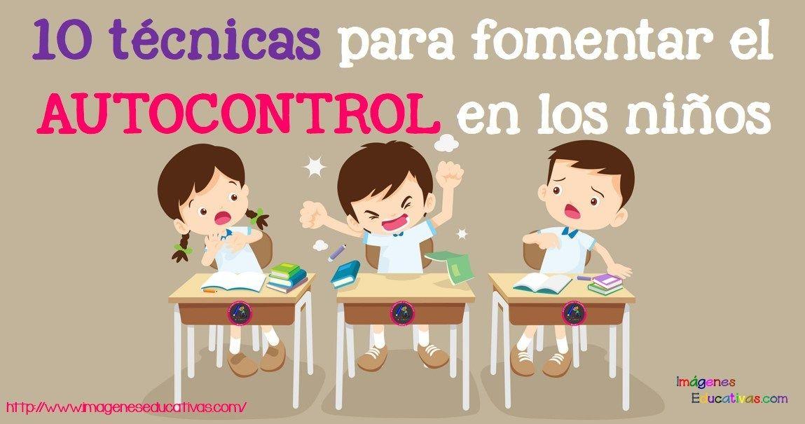 10 Técnicas Para Fomentar El Autocontrol En Los Niños Disciplina Para Niños Inteligencia Emocional Para Niños Enseñar A Los Niños El Respeto
