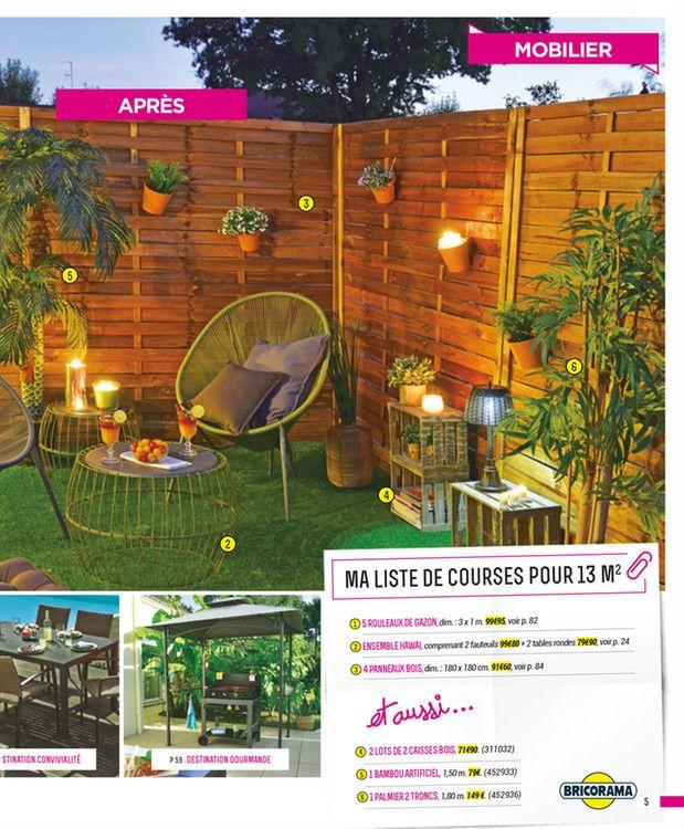 Catalogue Bricorama en cours, Cet été, passez en terrasse ...
