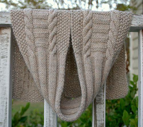 Ravelry: Jacobs Ladder Seamans Scarf pattern, free Knit - Scarfs ...