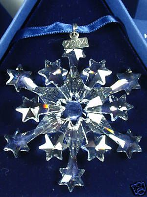 2010 Swarovski Christmas Ornament