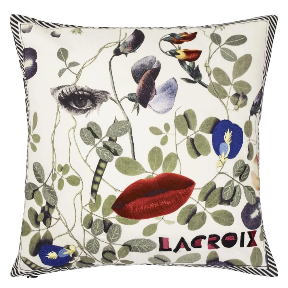 Dame Nature Printemps Cushion Christian Lacroix