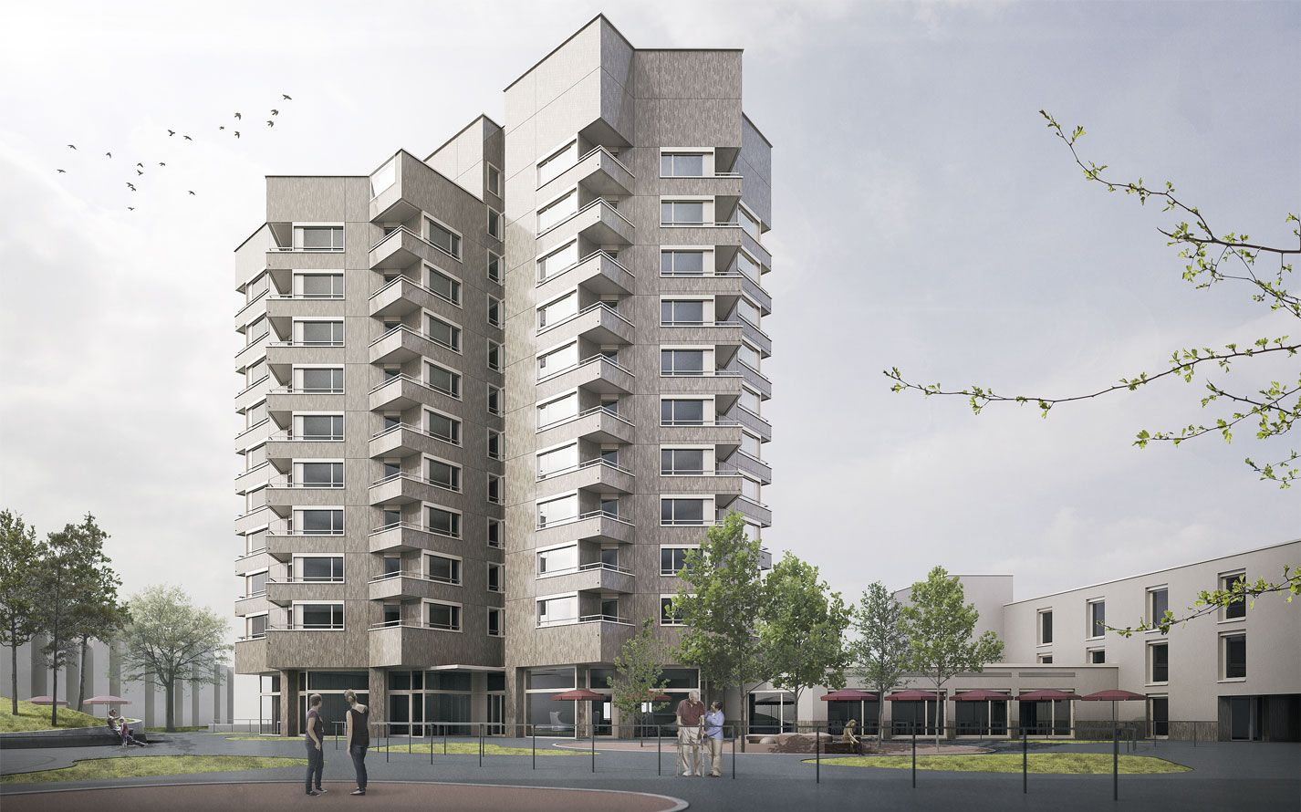 Instandsetzung Alterszentrum Wolfswinkel, Zürich (ZH) | Niedermann Sigg Schwendener Architekten AG