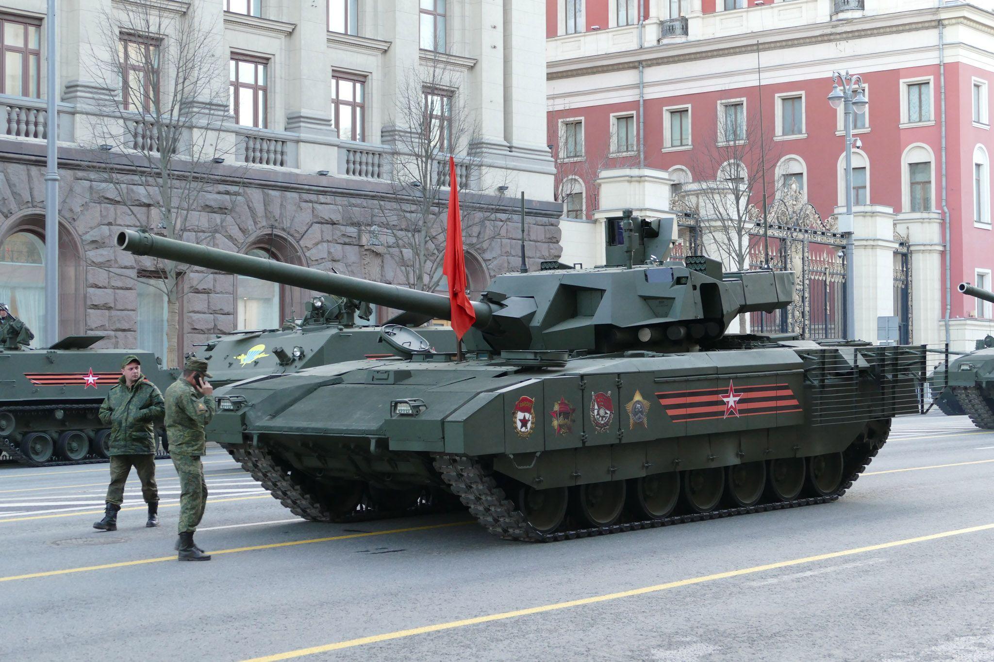 точек визуально фотогалерея танков армата теперь