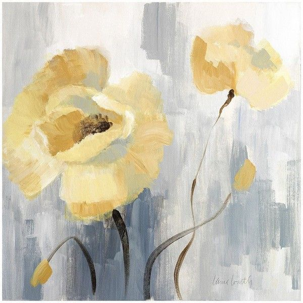Artissimo Blossom Beguile II Canvas Wall Art (155 PEN) ❤ liked on ...