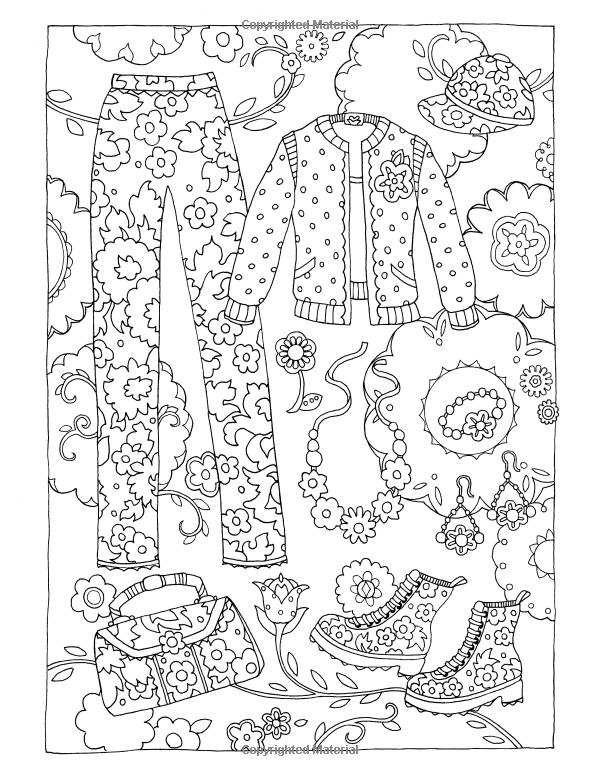 Fanciful Fashions Coloring Book Marjorie Sarnat 9780983740445 Amazon Com Books Fashion Coloring Book Coloring Books Coloring Pages