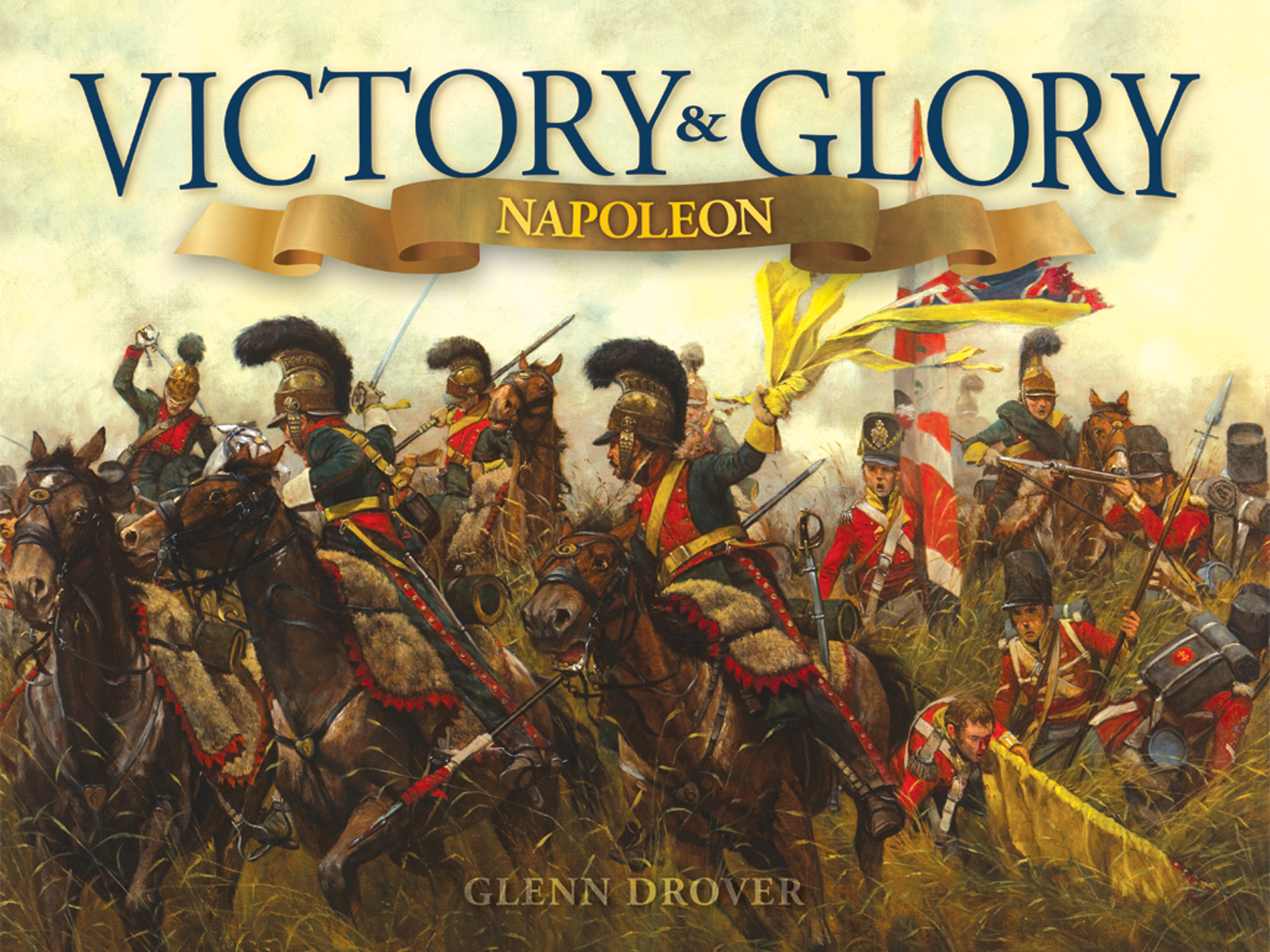 A board game of grand strategy and fastplay tactical