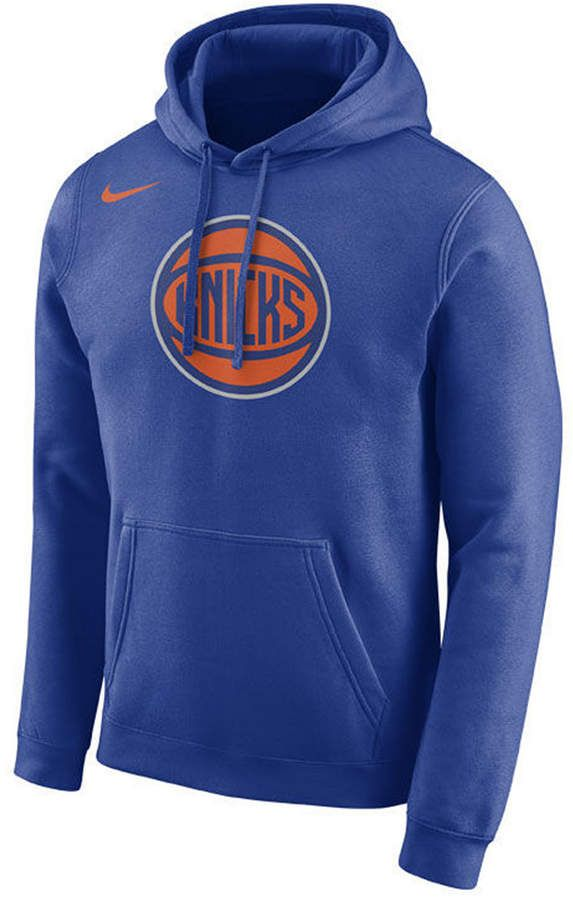 98d26d8a3eef Nike Men s New York Knicks Essential Logo Pullover Hoodie