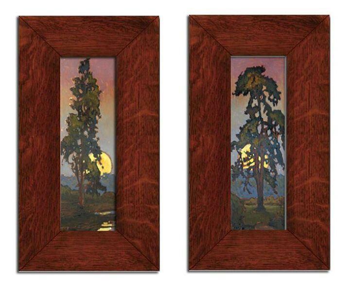 Jan Schmuckal | Oils on Solid Copper | Dard Hunter Studios Frames | Grove Park Inn Arts & Crafts Conference