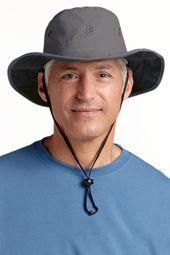 9753cf2ba5d8b Men s Shapeable Wide Brim Hat  Coolibar
