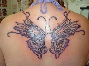 White Butterfly Tattoo Meaning