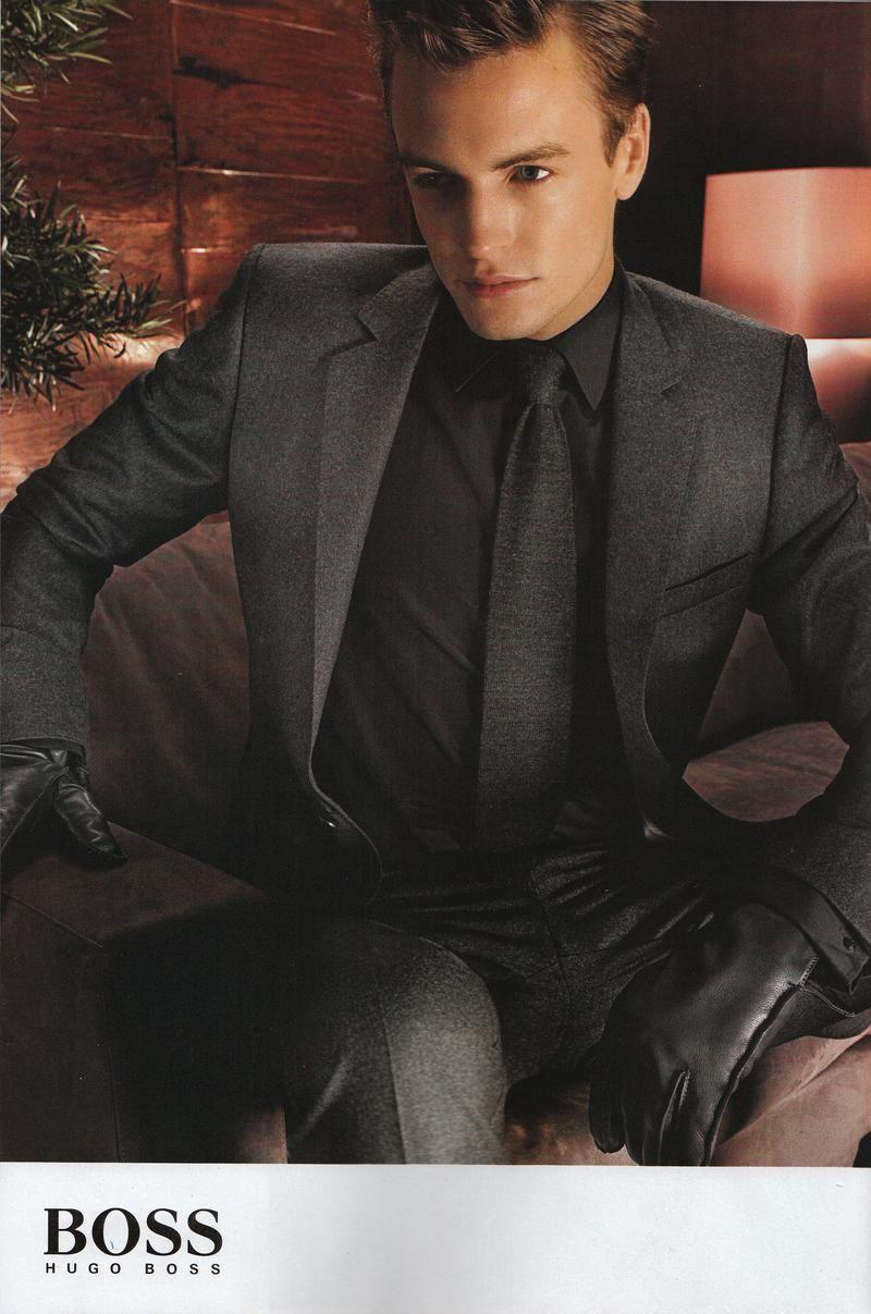 hugo boss black dress shirt