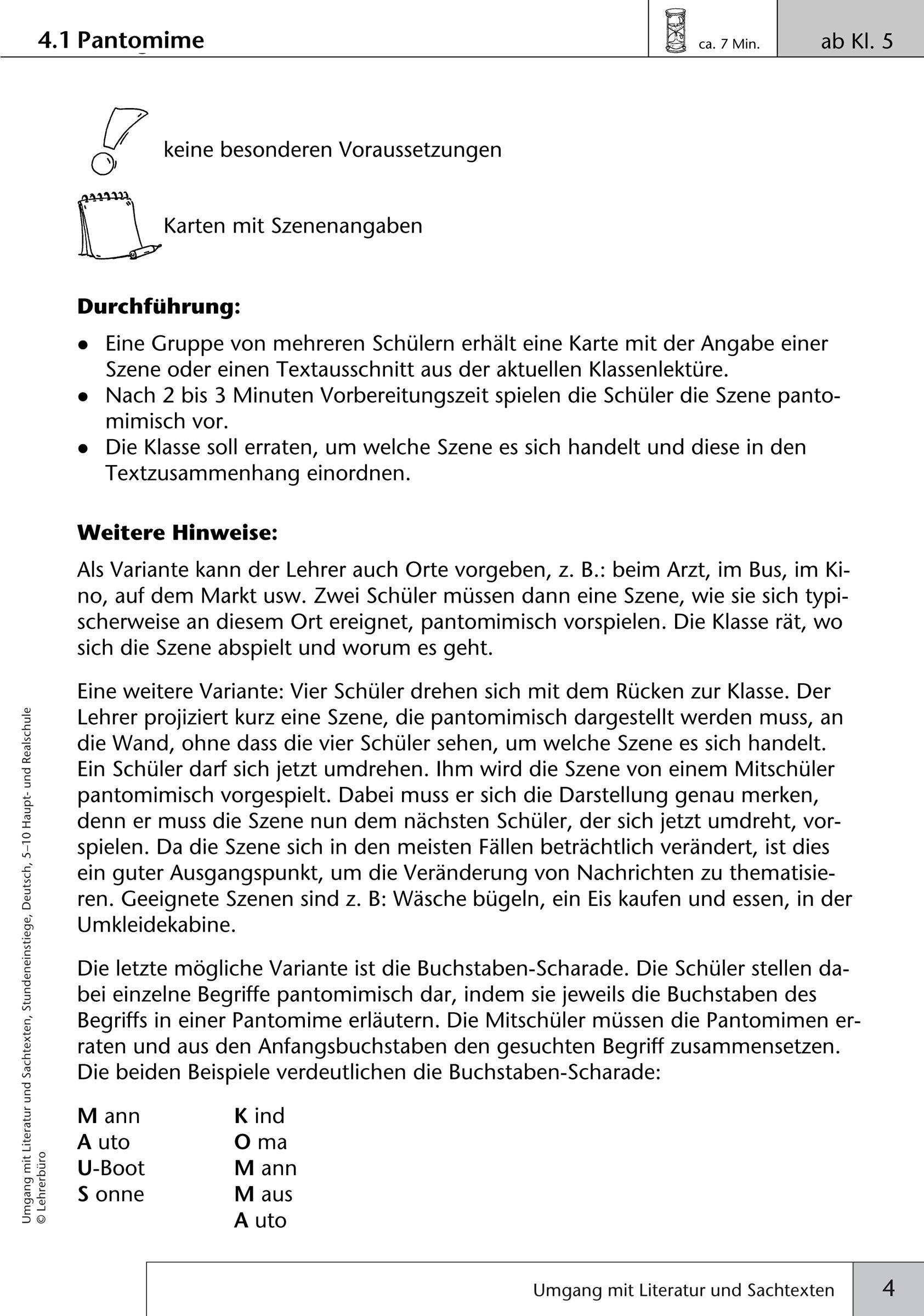 20 Arbeitsblatter Deutsch Klasse 5 Gymnasium