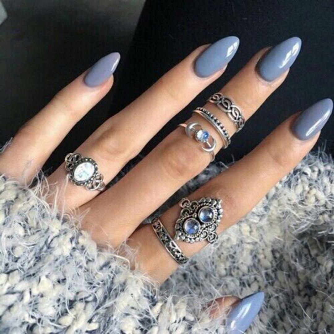 75+ Beautiful Autumn Nails Art Collection Ideas   Autumn nails ...