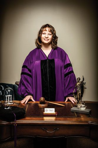 Michelle Homier u2014 HTS 99 and first female state court judge in