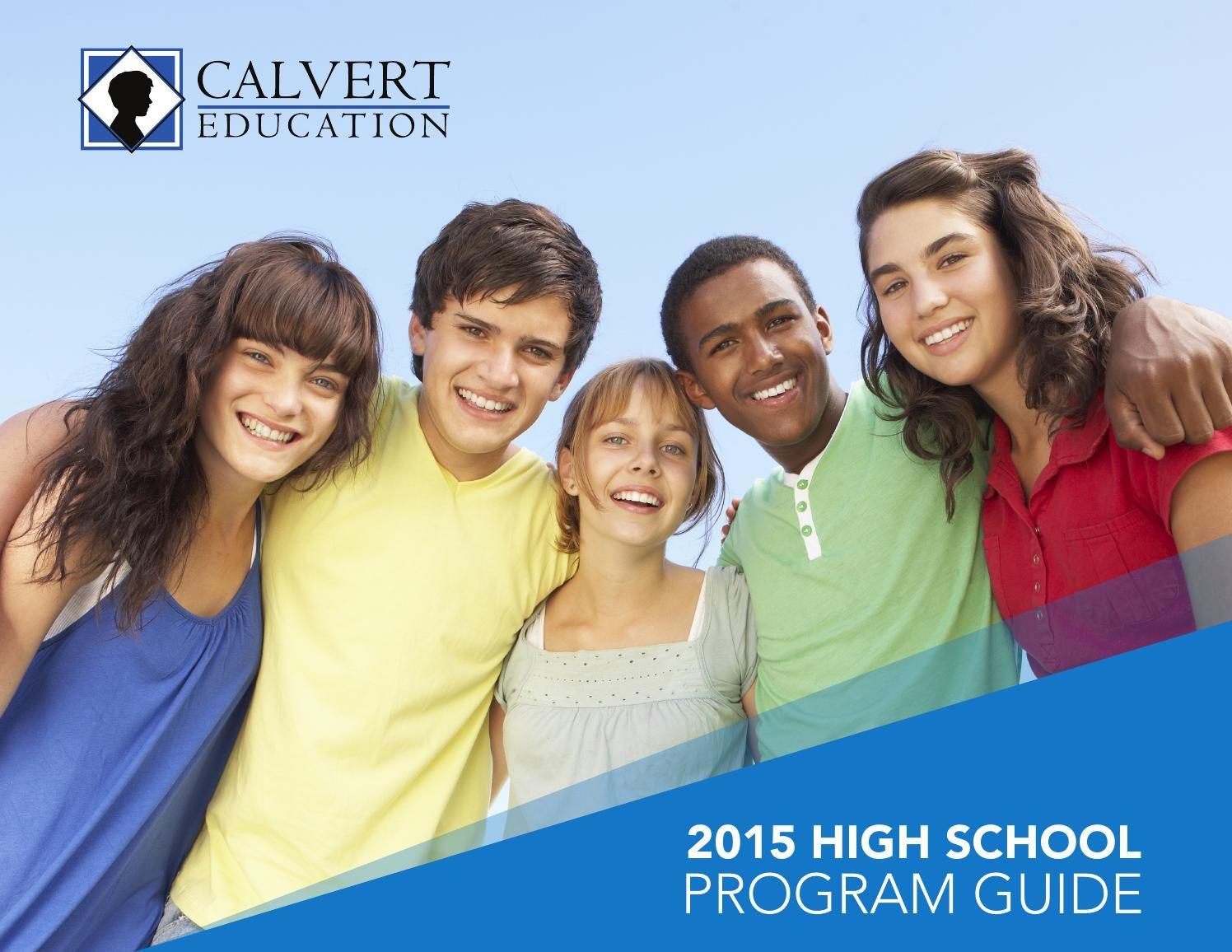 Calvert Education High School Program Guide Calvert Education High