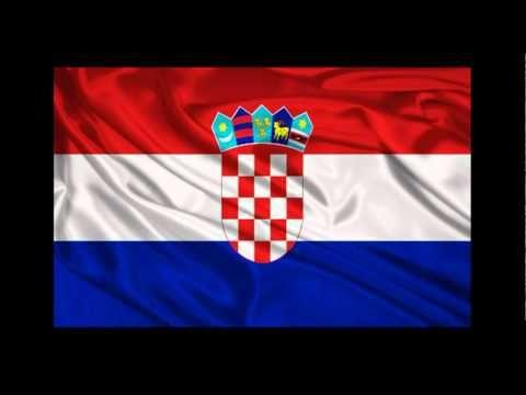 Croatian Anthem And Flag Hrvatska Zastava I Himna