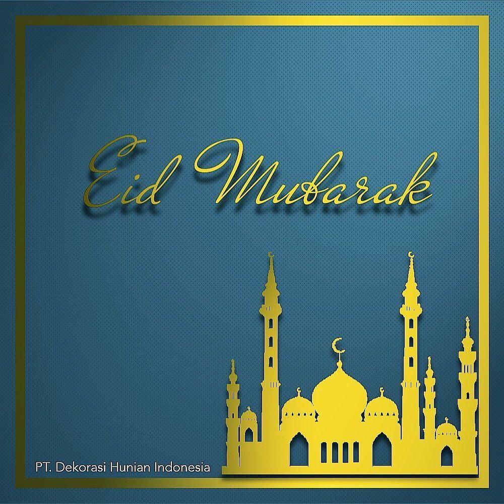 Selamat hari raya Idul Fitri 1440 H. Mohon maaf lahir dan