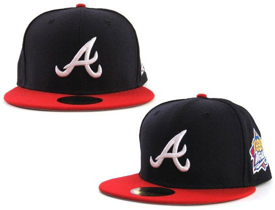 1999 World Series Atlanta Braves 59fifty Fitted Cap By Mlb X New Era