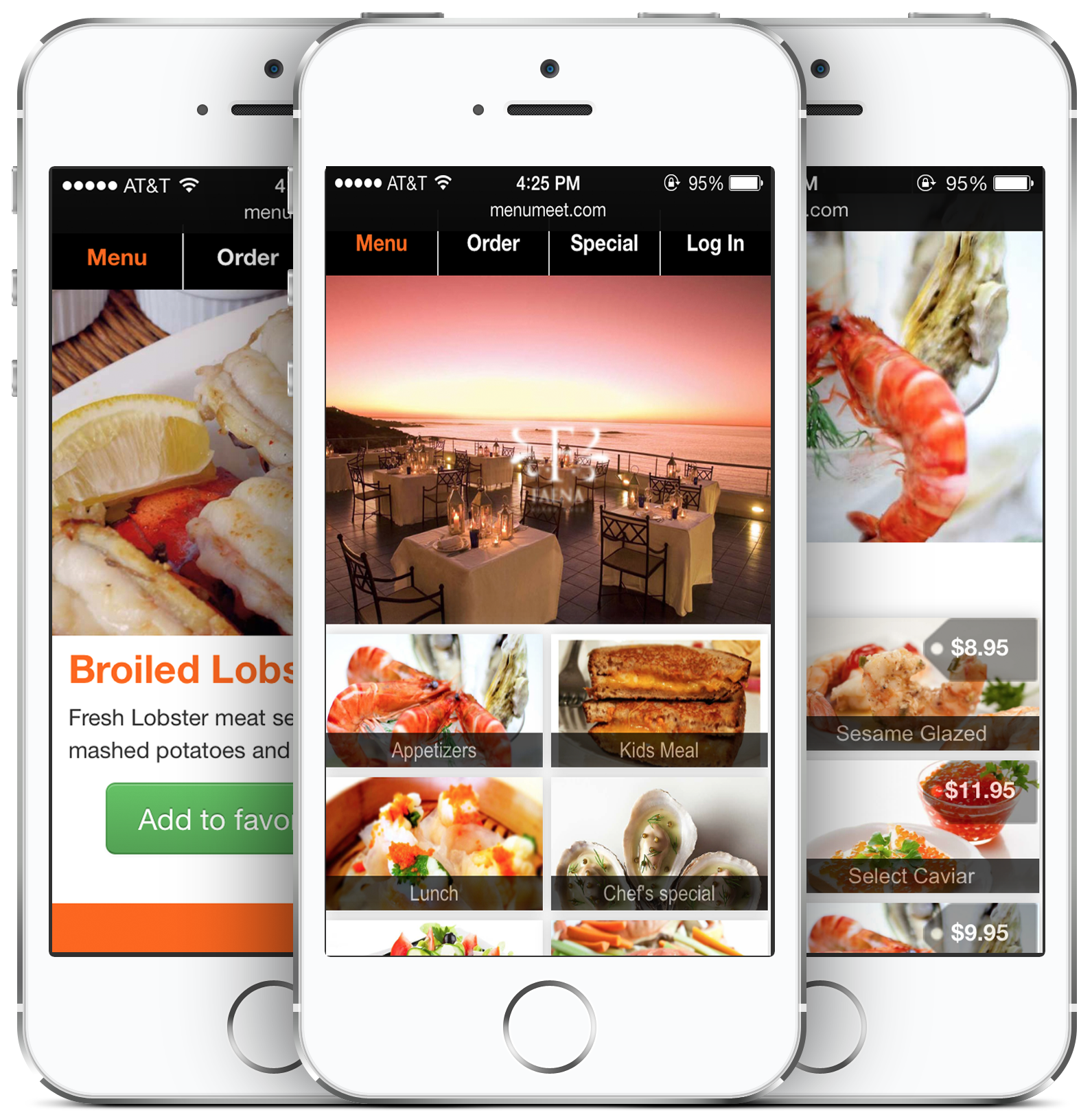 Most beautiful restaurant menu app!