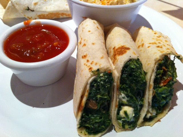 Spinach Roll Ups With Salsa Zoes Kitchen Spinach Rolls Soul Food