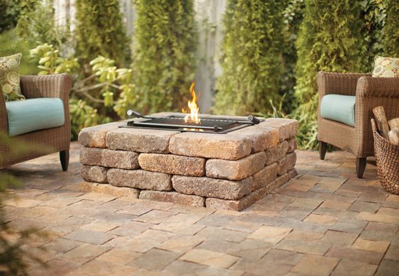 outdoor stone fire pit. Outdoor Fire Pit Accessories Stone