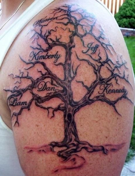 Tatuajes Con Significado De Familia Tattoos Tatuajes De árbol