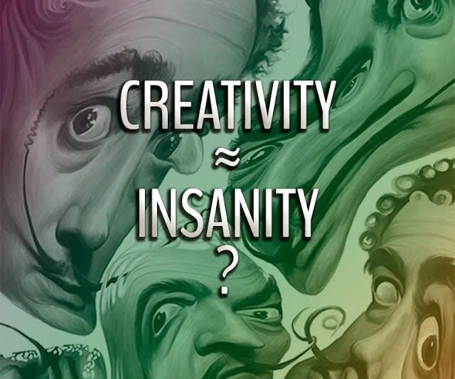 Urban Drops: Is Creativity Similar to Insanity?