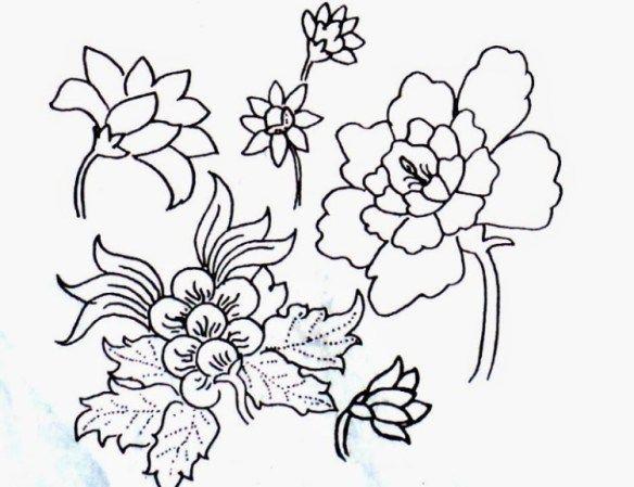 Ragam Hias Flora Dan Fauna Yang Terdapat Di Budaya Indonesia Sangat Banyak Umumnya Sering Diaplikasikan Ke Kain Bat Gambar Flora Dan Fauna Flora Lukisan Bunga