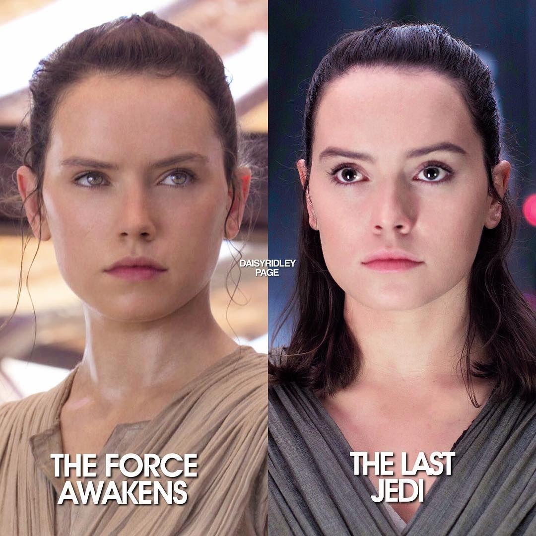 4 055 Likes 207 Comments Daisy Ridley Daisyridleypage On Instagram Tfa Or Tlj Daisy Ridley Star Wars Rey Star Wars Star Wars Women