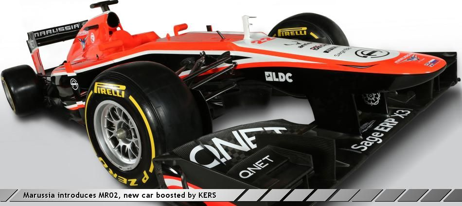 Marussia introduces MR02, new car boosted by KERS | QNET