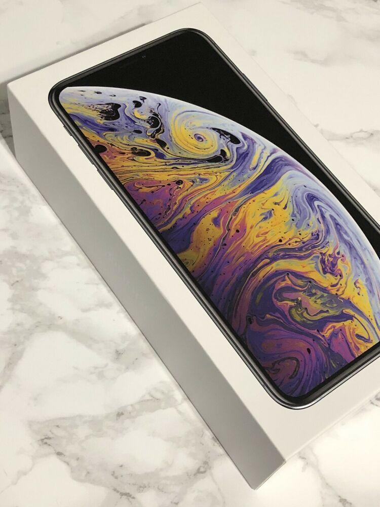 Brand new apple iphone xs max 256gb silver att