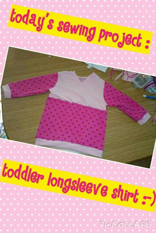 Toddler longsleeve shirt