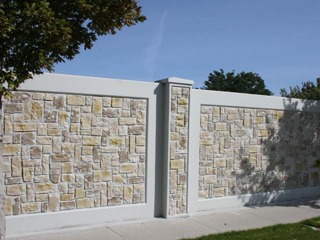 Front boundary wall designs Fencing Pinterest Walls House