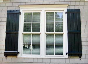 1 / 14) | Casting | Pinterest | Black shutters, Window and Exterior
