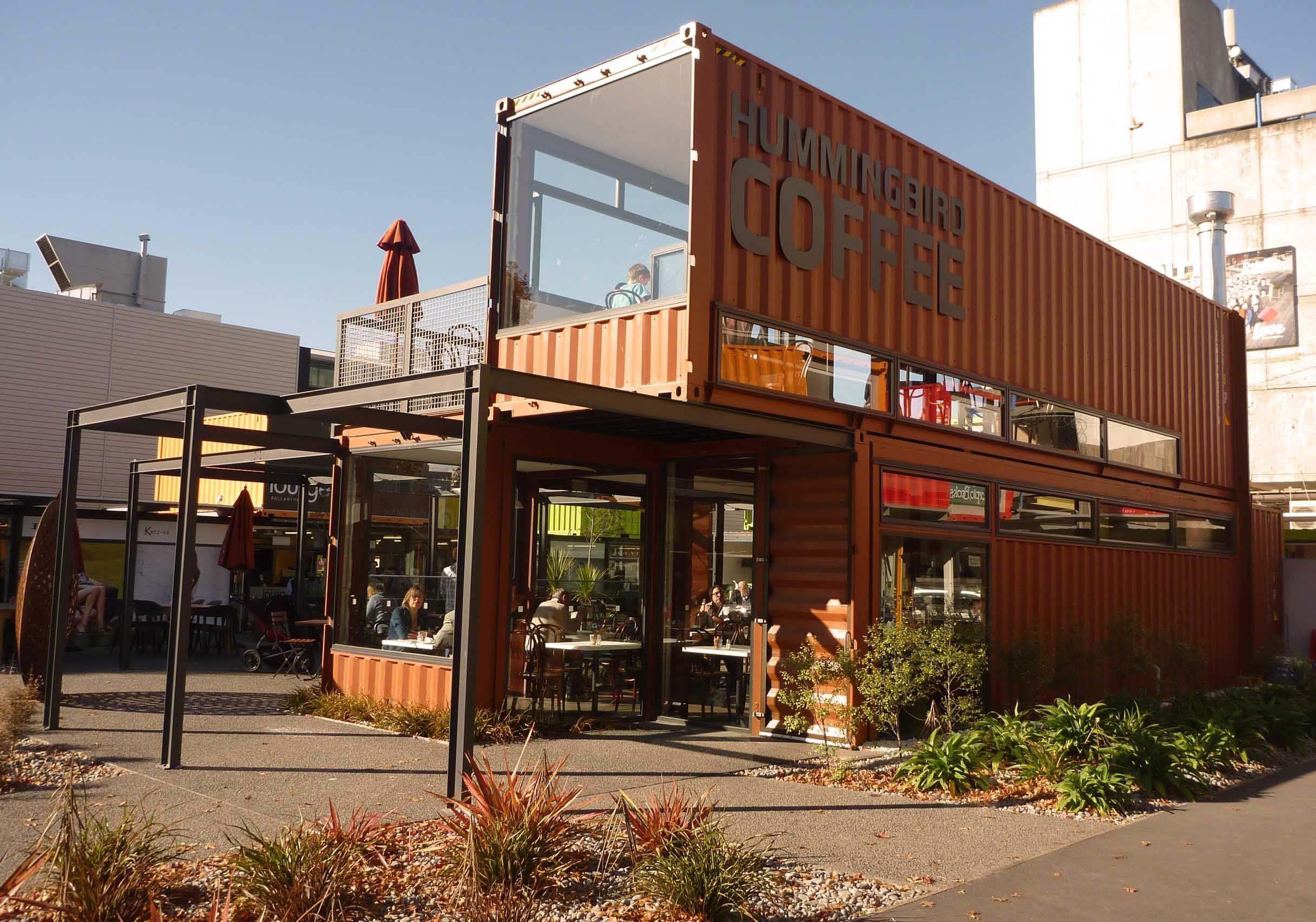 Hummingbird Coffee, Cashel Mall, Christchurch New Zealand